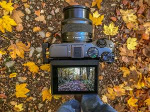 Aufnahmen mit der Canon EOS M6