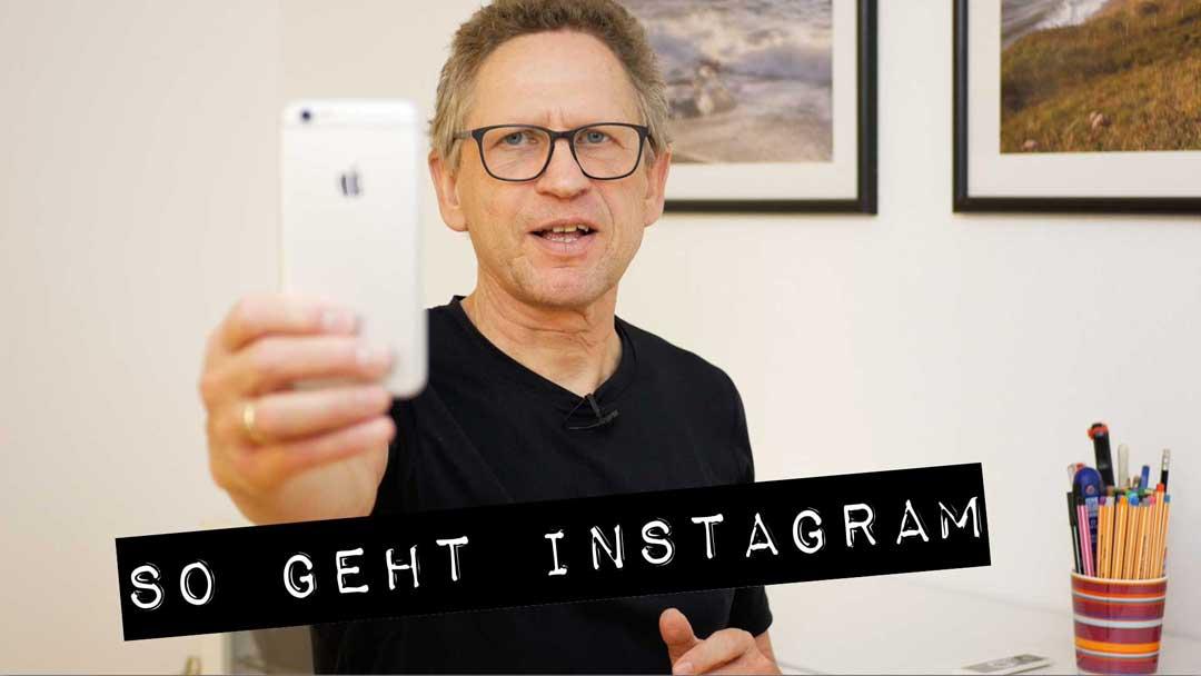 So geht Instagram: